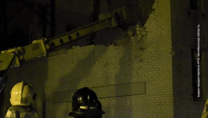 Завершены аварийно-спасательные работы на месте обрушения котельной под Челябинском