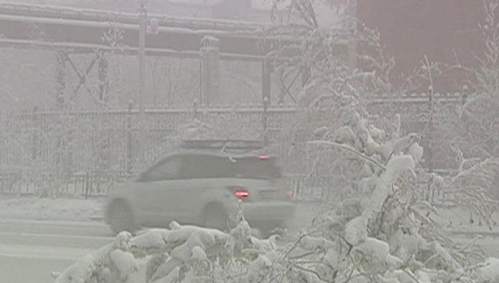 Якутию ждет 62-градусный мороз