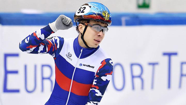 Елистратов стал вторым на чемпионате Европы по шорт-треку