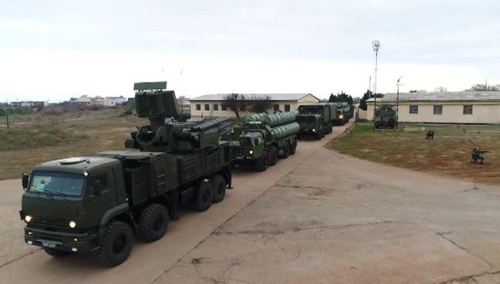 В Крыму прошла тренировка экипажей С-400