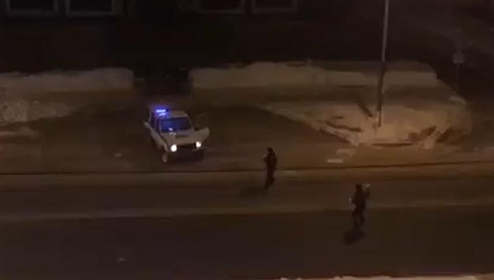 Жительница Сахалина расстроилась из-за расстрелянного полицейскими авто