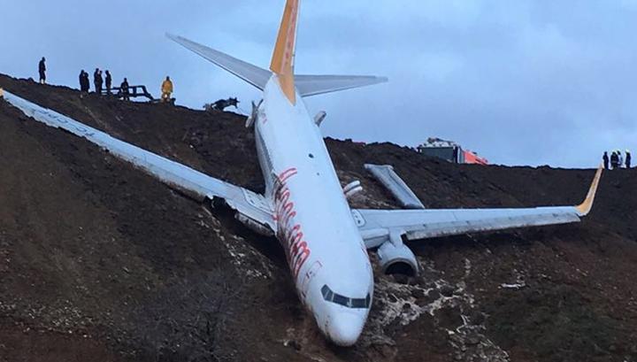 Спаслись чудом: лайнер со 162 пассажирами едва не скатился с обрыва в море