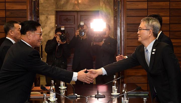 Разморозка по-корейски: Сеул и Пхеньян обсуждают участие в Олимпиаде