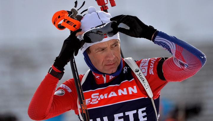 Знаменитый биатлонист Бьорндален раздумывает над завершением карьеры