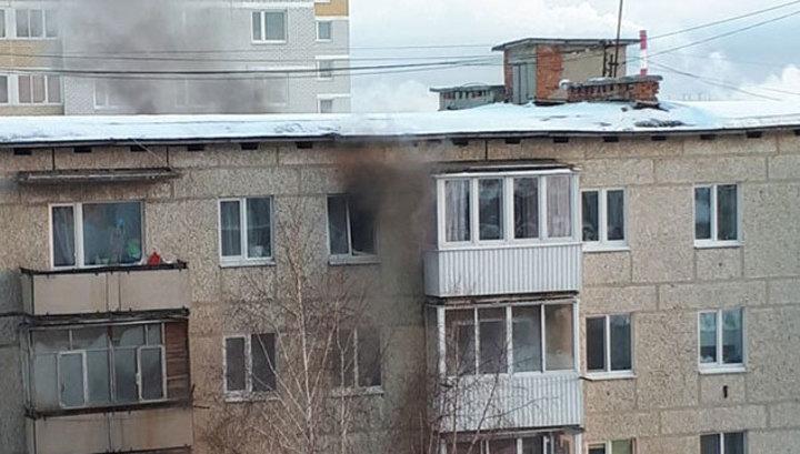 В уральской пятиэтажке прогремел взрыв