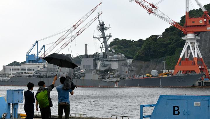 Командиров двух эсминцев США обвиняют в непреднамеренном убийстве