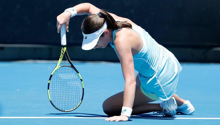 Australian Open. Конта и Мугуруса лишились статуса фаворитов