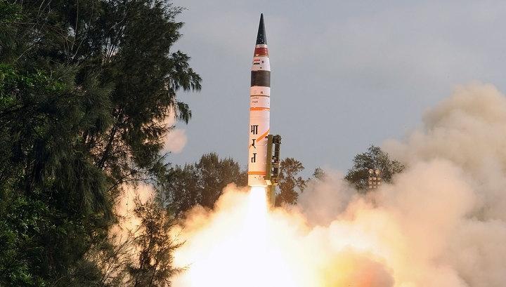 Индия успешно испытала ядерную ракету