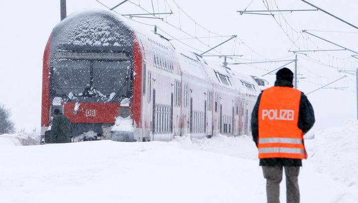 Deutsche Bahn останавливает движение дальних поездов из-за непогоды