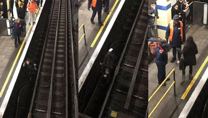 Жительница Лондона блокировала четыре ветки метро, пытаясь достать упавший смартфон