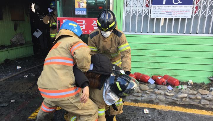 ЧП в Южной Корее: пожар в центре ядерных исследований