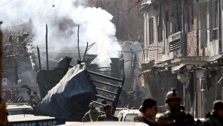Теракт в Кабуле: не менее 10 погибших и пострадавших