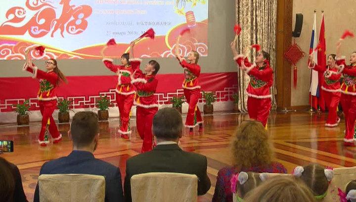 В посольстве Китая в Москве прошел прием для детей