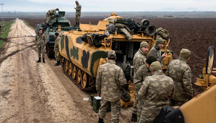 Турецкие войска вошли в Сирию, курды объявили мобилизацию
