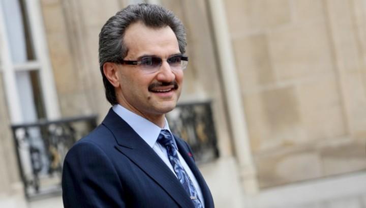 Акции компании принца аль-Валида резко выросли