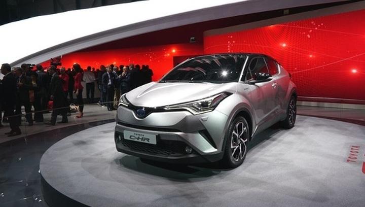 В Россию привезут совершенно новый кроссовер Toyota
