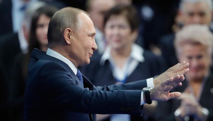 """""""Обидно!"""" - ответил Путин на вопрос о его отсутствии в """"кремлевском списке"""""""