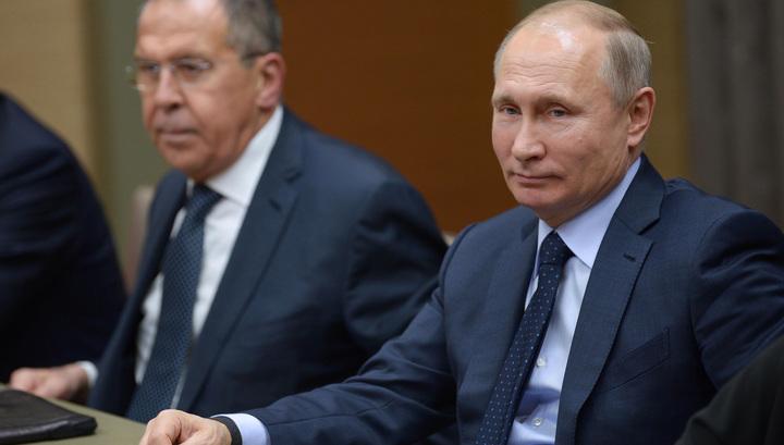 Деловой разговор: Путин встретился с французскими бизнесменами и премьером Бельгии