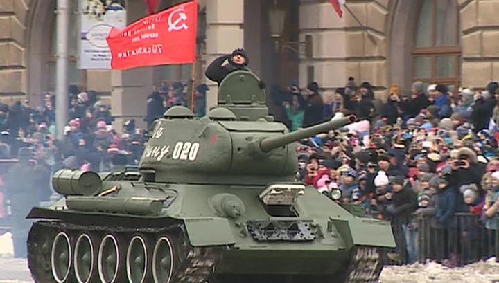 Россия отмечает 75-летие победы под Сталинградом
