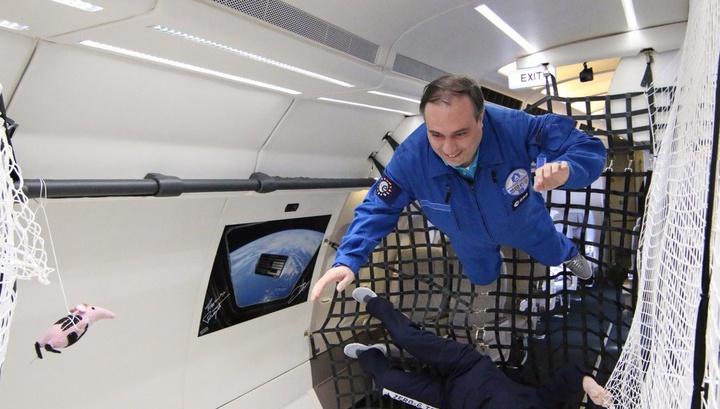 Учёные провели испытаниям в псевдокосмических условиях на борту самолёта Zero-G.