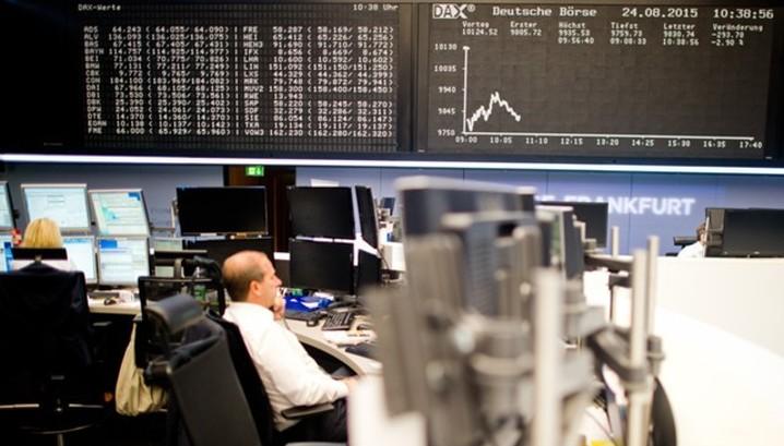 Акции падают на фоне роста доходности бондов