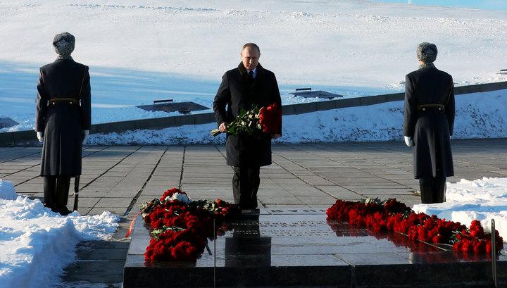 Путин призвал россиян не проявлять малодушия