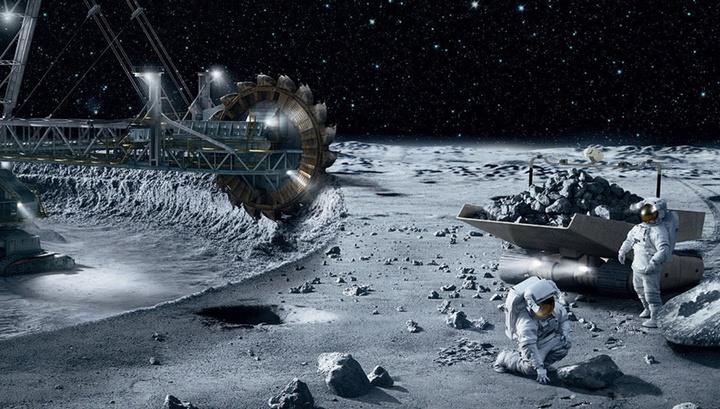 Новые технологии и улучшенная робототехника позволят получать прямо на Луне ресурсы и материалы для создания космической инфраструктуры.