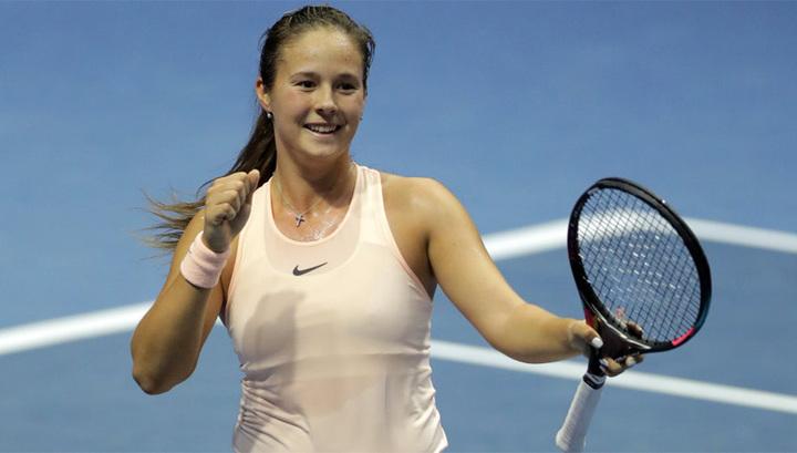 Касаткина пробилась в четвертьфинал турнира в Индиан-Уэллсе