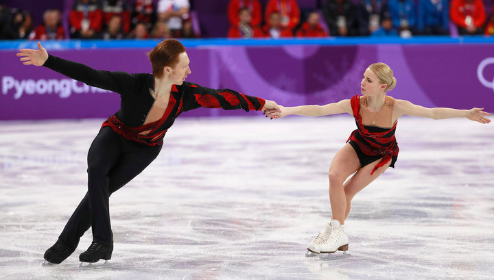 Фигуристы Тарасова и Морозов заняли четвертое место на Играх