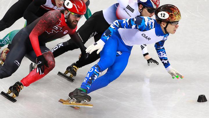 Семен Елистратов завоевал бронзу Олимпиады в Пхенчхане