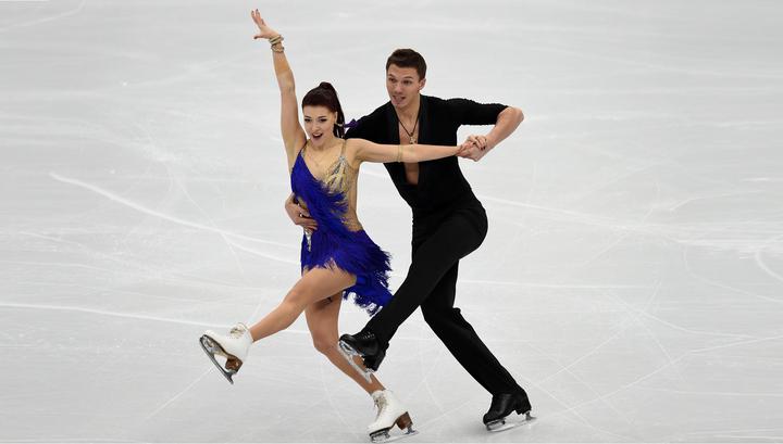 Боброва и Соловьев идут шестыми после короткой программы в танцах на льду