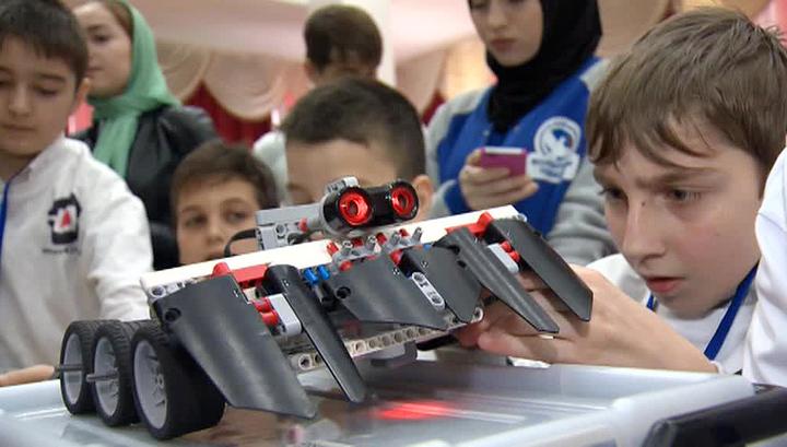 В столице Чечни прошел северокавказский турнир робототехники