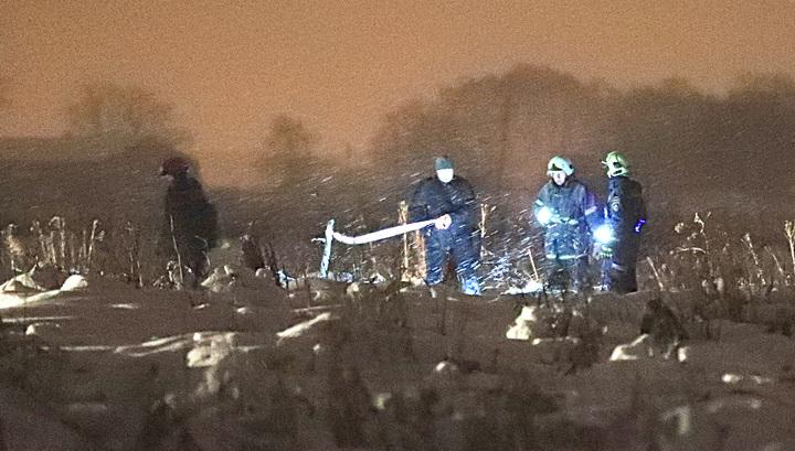 Спасатели нашли 450 фрагментов тел погибших при крушении Ан-148