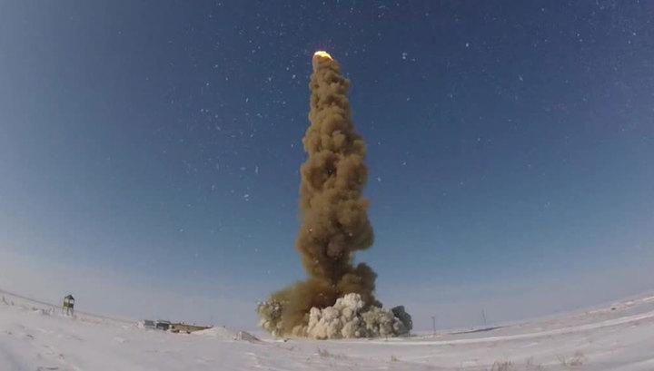 Испытания новой противоракеты успешно провели в Казахстане российские военные