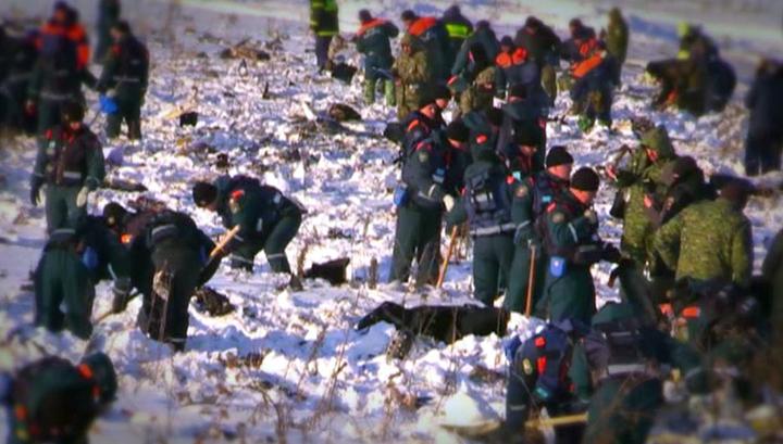 Соколов: поисковые работы на месте крушения Ан-148 продлятся неделю