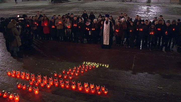 В главном храме Орска проходят поминальные службы по погибшим при крушении Ан-148