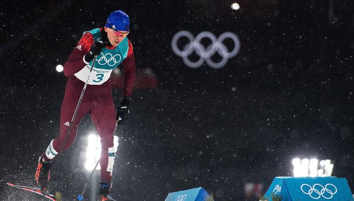 Российский лыжник Александр Большунов завоевал бронзу в спринте