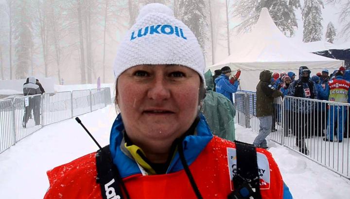 Елена Вяльбе поблагодарила лыжников за