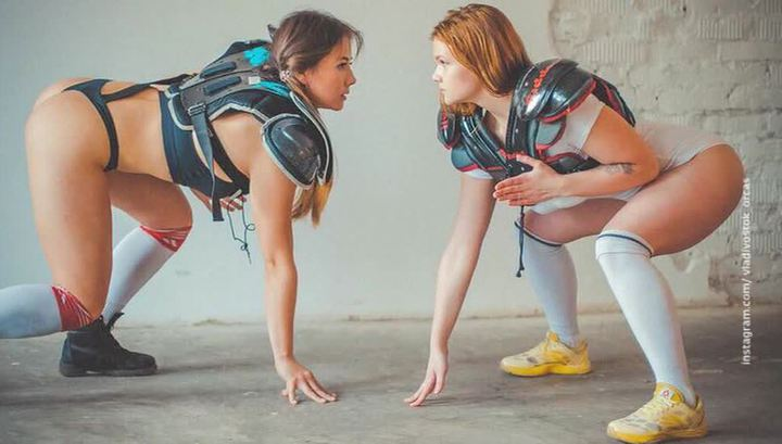 Откровенная фотосессия спортсменок из Владивостока популяризовала американский футбол в РФ