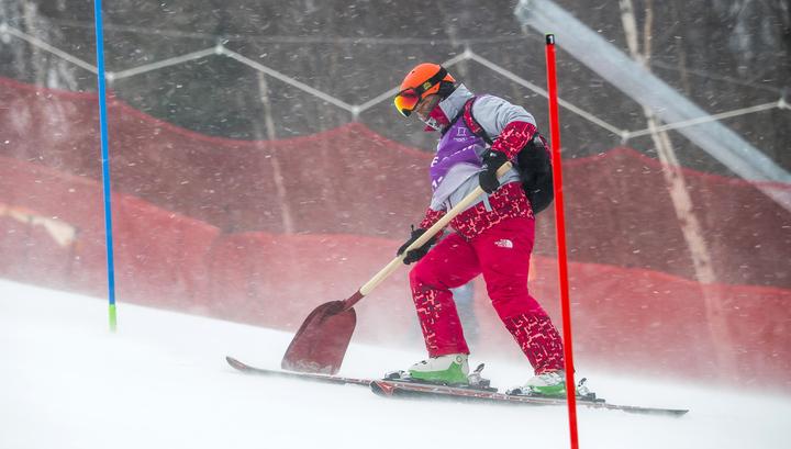 Соревнования по женскому горнолыжному слалому перенесены на 16 февраля
