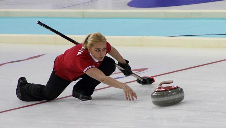 Российские керлингистки стартовали на Олимпиаде с поражения