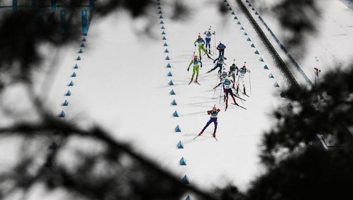 Сильный ветер отменил на Играх в Пхенчхане женский биатлон