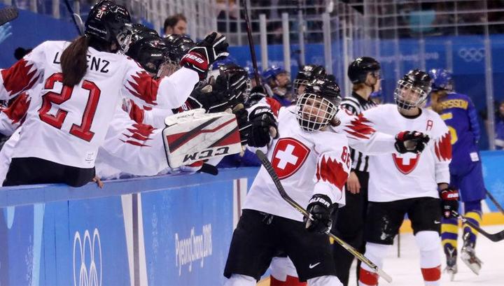 В женском хоккее определились все участники четвертьфиналов