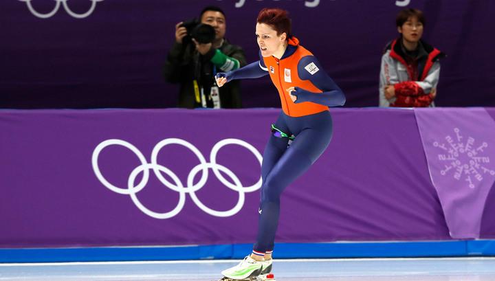 Конькобежка тер Морс принесла Нидерландам очередное золото Олимпиады