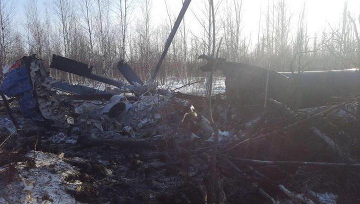 Выдвинуты две версии крушения вертолета Ми-8 в Томской области