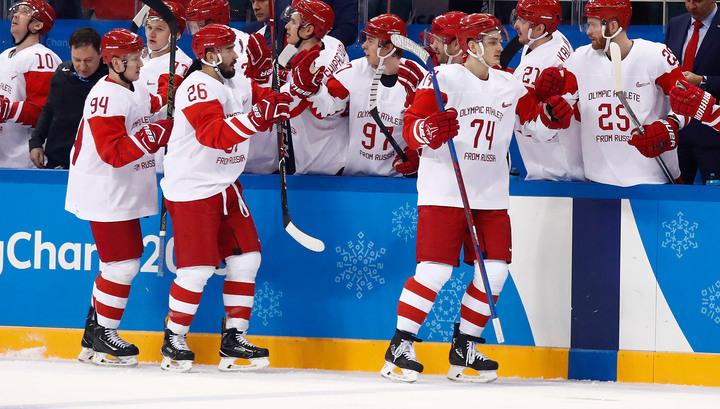 Стресс спал: российские хоккеисты о поражении в матче со словаками