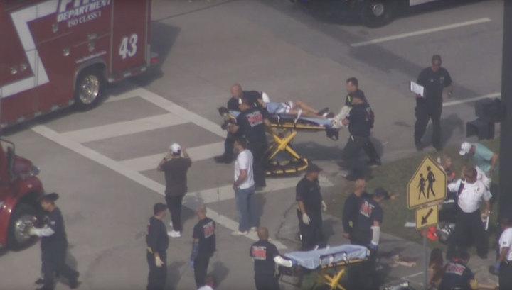 СМИ: не менее семи человек стали жертвами стрельбы в школе Флориды