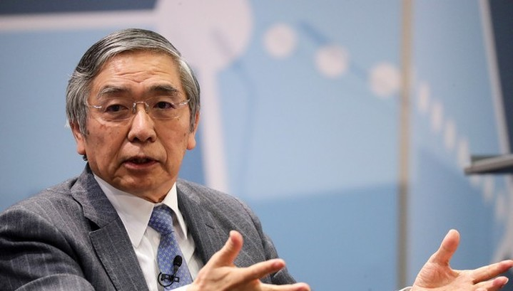 Кабмин Японии предложил переизбрать Куроду главой ЦБ