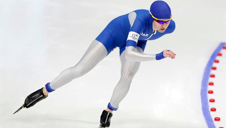 Конькобежный спорт. Наталья Воронина заняла второе место на этапе Кубка мира