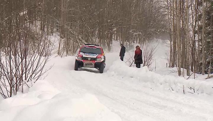 Сильнейшие раллисты мира приняли участие в традиционной гонке в Карелии